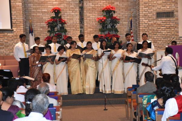 CSI Dallas Church Tamil Christmas song